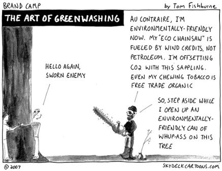 The Art of Greenwashing by Tom Fishburne