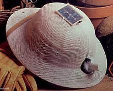 Solar Fan  Safari Hat With Solar Fan adff3de88d3