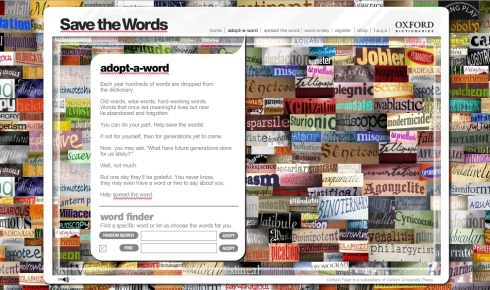 save-the-words