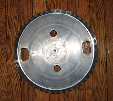 Gemini Solid Aluminum Platter With Finger Easy Glide Grooves
